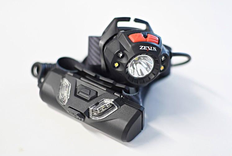 冨士灯器のZX-R370(充電タイプ)