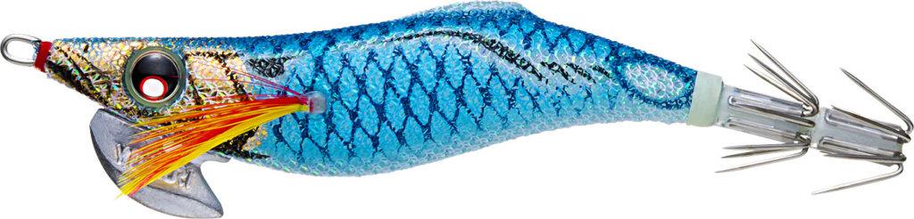 デュエルのアオリーQフィンエース2.5号  ブルー夜光ブルーボイル