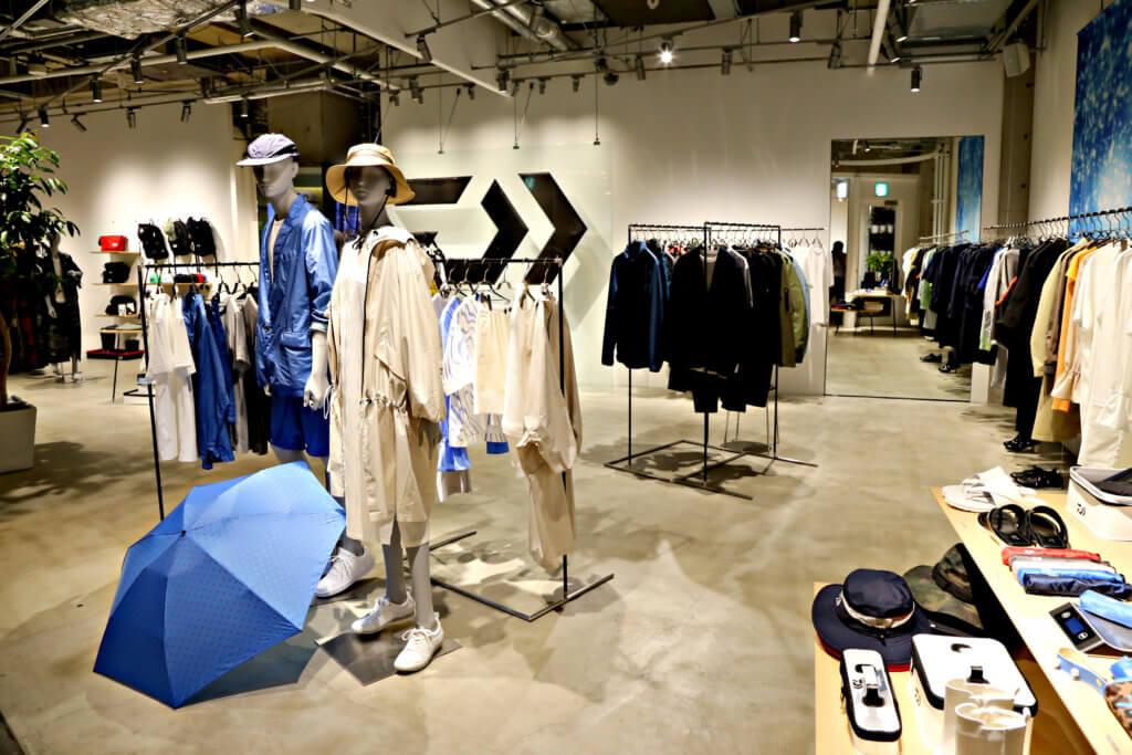 D-VEC TOKYO EXCLUSIVEの店内