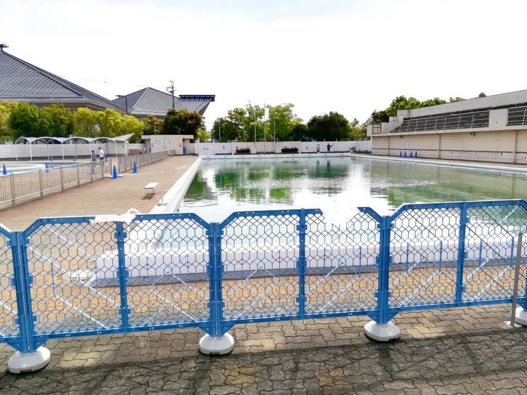 岸和田フィッシングパークのルアーエリア