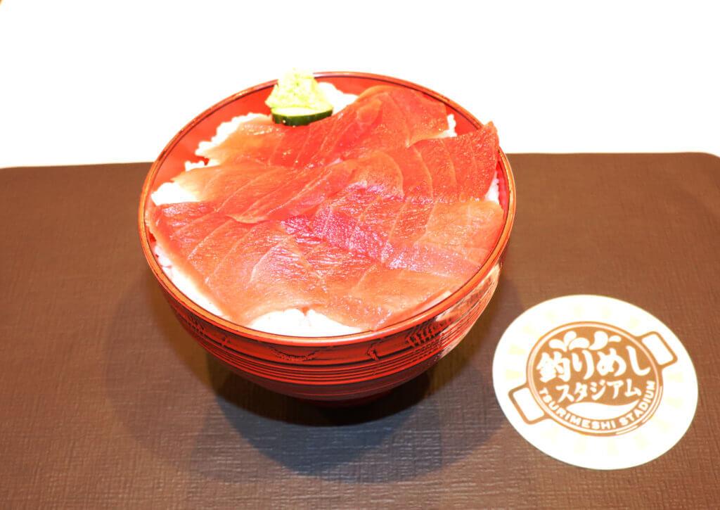 東京都勝どき マグロ卸のマグロ丼の店「中トロだけ丼」