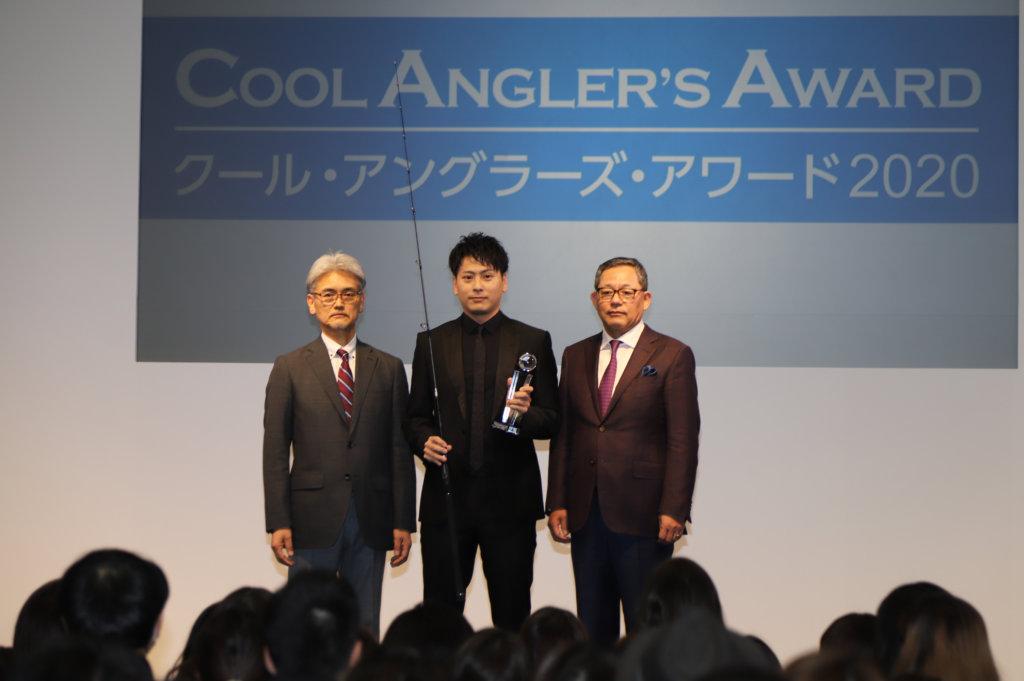 三代目 J Soul Brothersの山下健二郎の授賞式