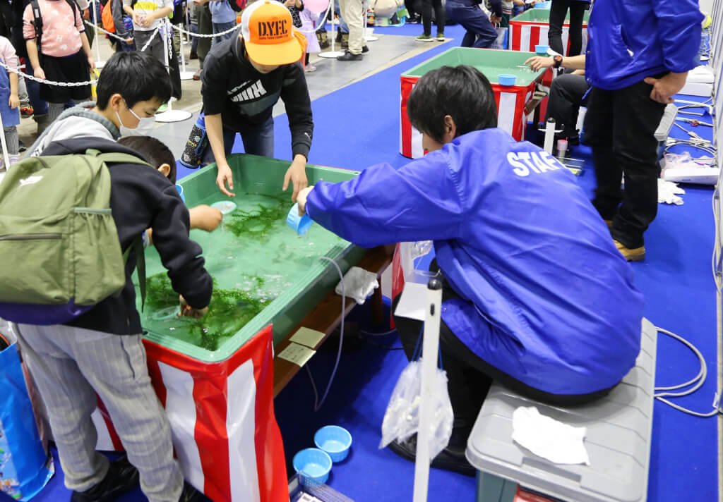 子供が楽しめる体験型のイベントも多数用意されている(写真は2019年開催時のもの)