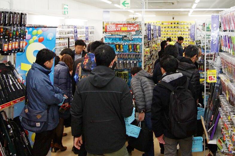 1月20日(月)にリニューアルオープンした「上州屋神田駅前店」の店内の様子