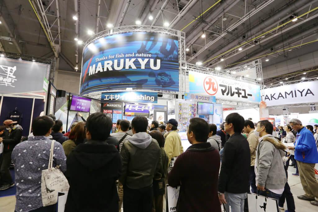 西日本釣り博2018のマルキユーブース
