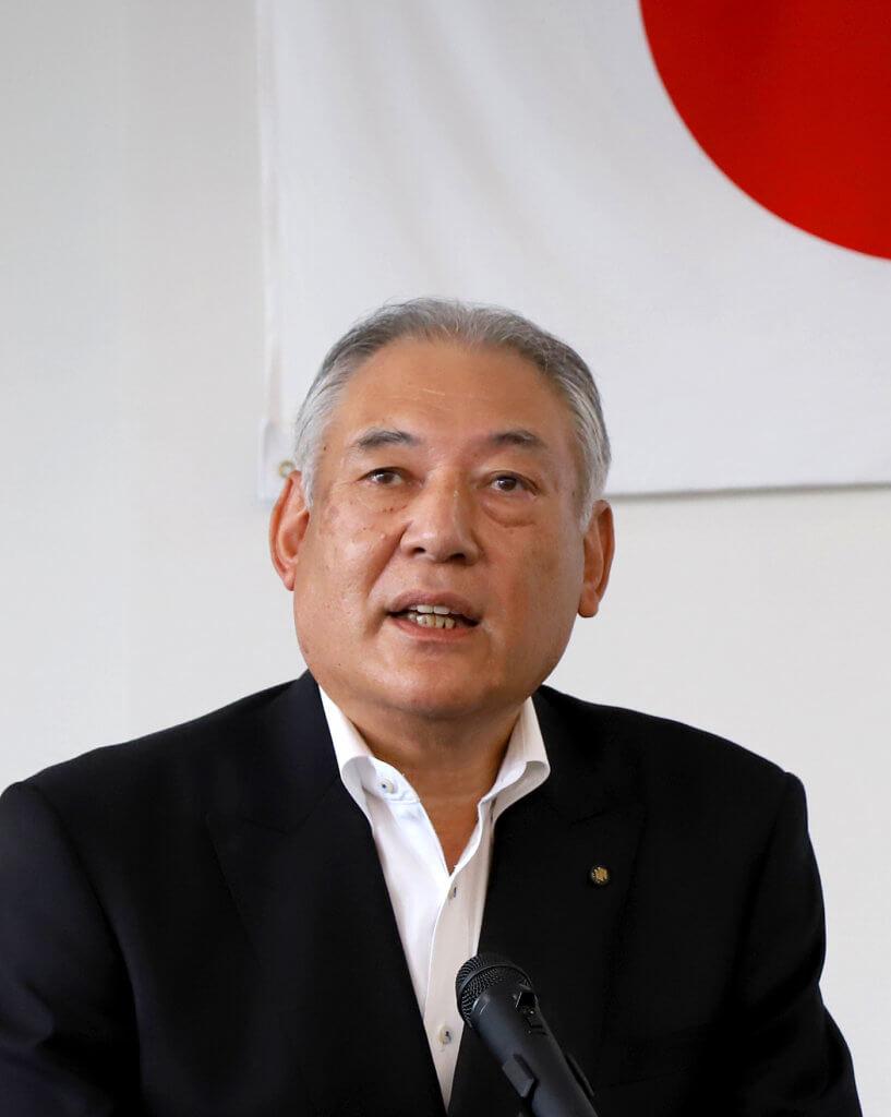 (一社)秋田港有効利活用協会の石黒会長
