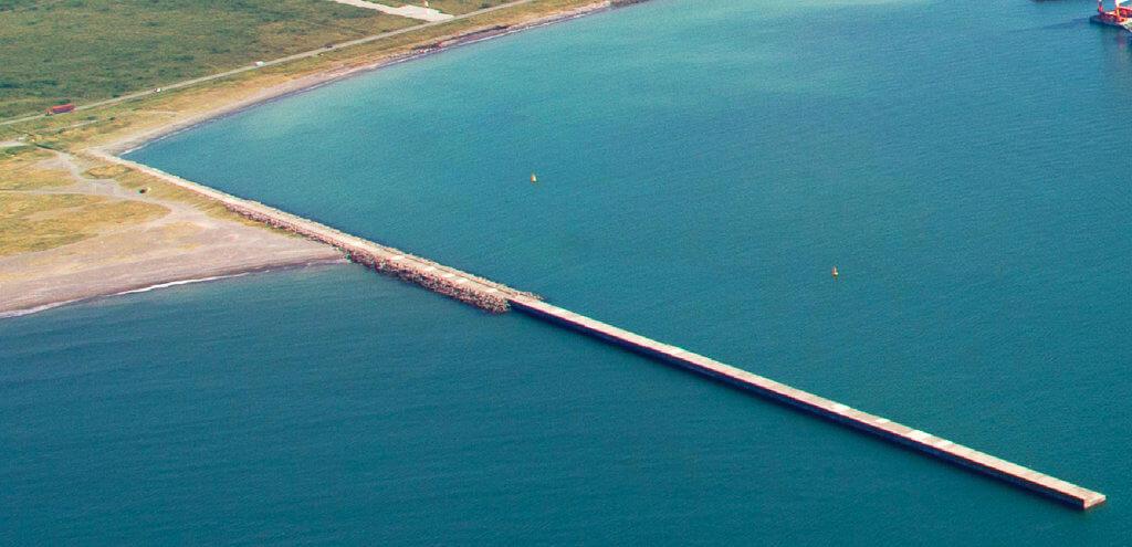 来年度中の釣り場開放を目指す北海道苫小牧港内防波堤