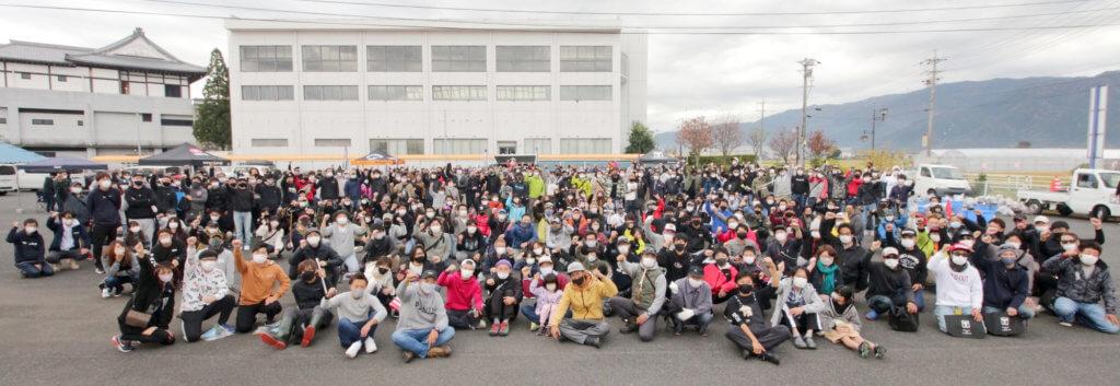 岐阜県海津市が主催して行われた「アングラー河川清掃in大江川・中江川」には一般参加者360名、関係者含め400名超で清掃が行われた