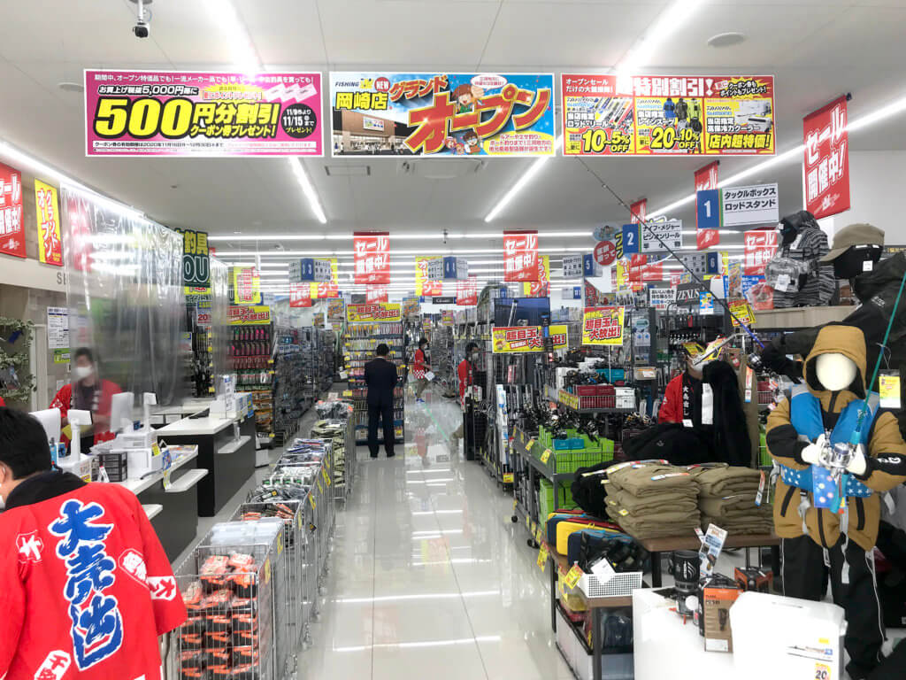 店内の様子。従業員の思いの詰まった商品展示や、商品紹介POPが展開されている