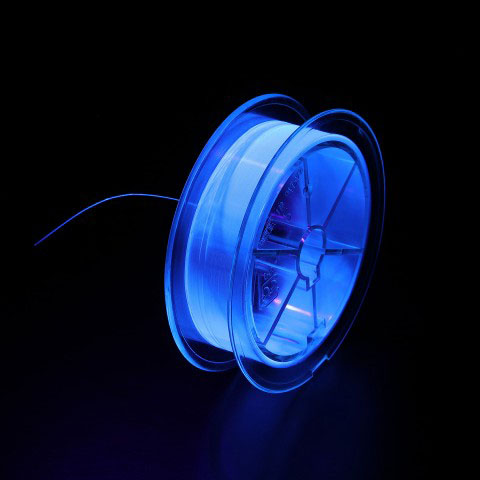 ナイロンショックリーダー蛍光紫