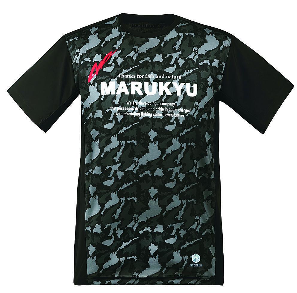 氷瀑TシャツMQ―01(ブラックカモ)