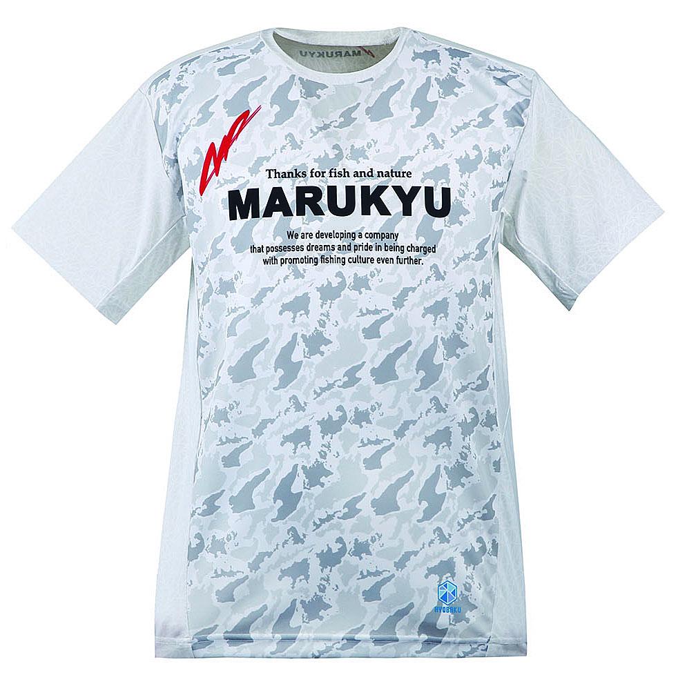 氷瀑TシャツMQ―01(ホワイトカモ)
