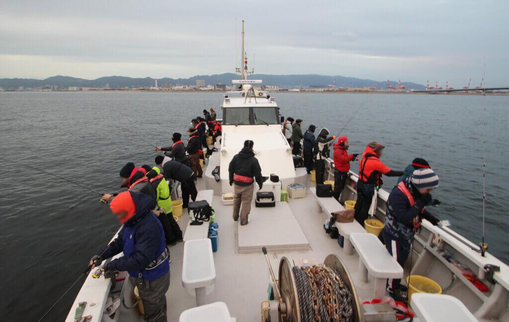船釣りのイメージ写真