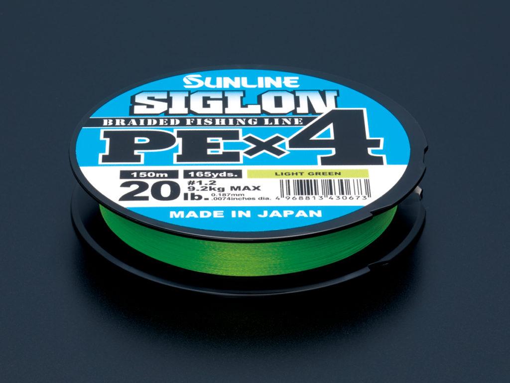 サンラインSIGLON PE×4グリーン