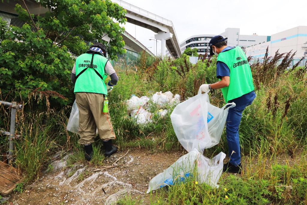 日釣振釣り場の清掃支援金制度2