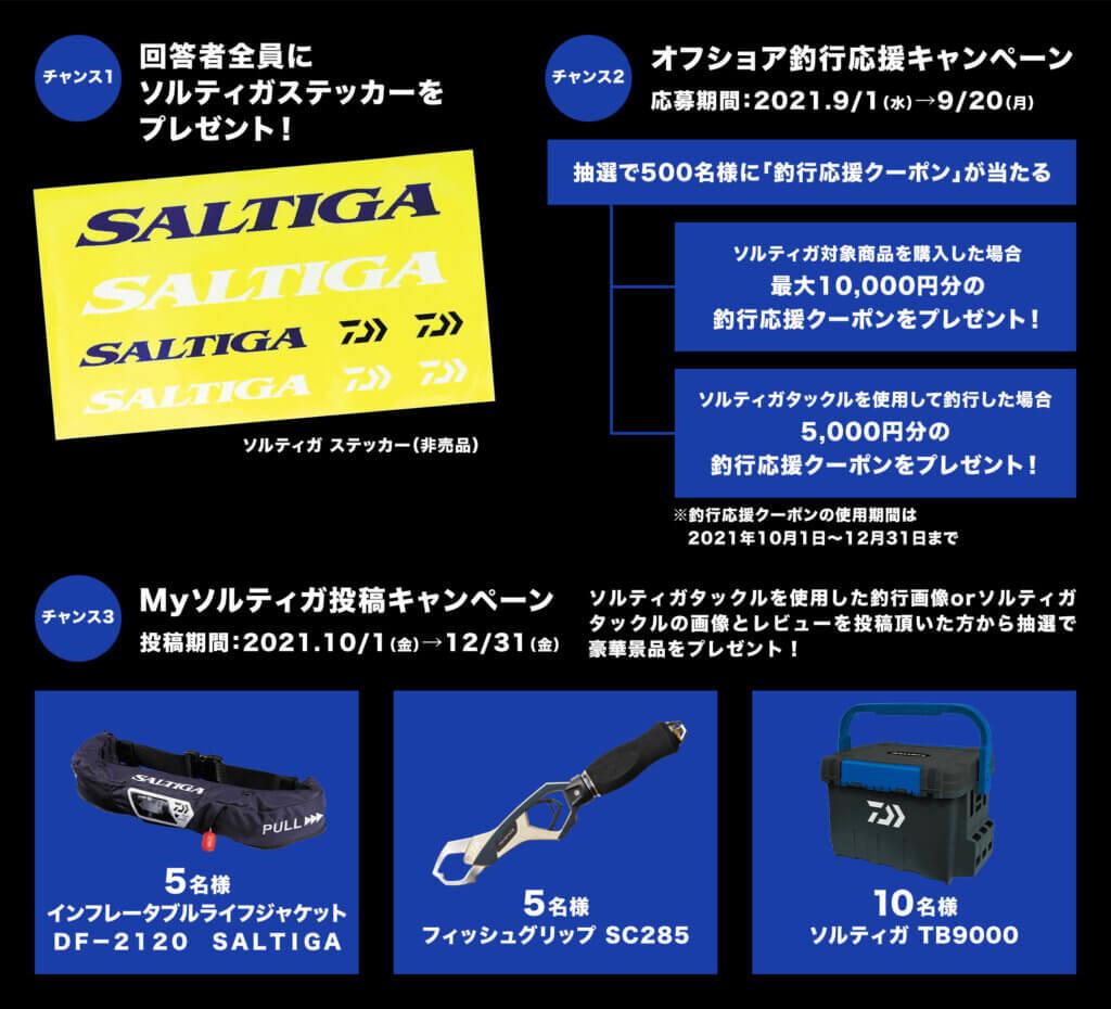 ソルティガ20周年キャンペーン詳細