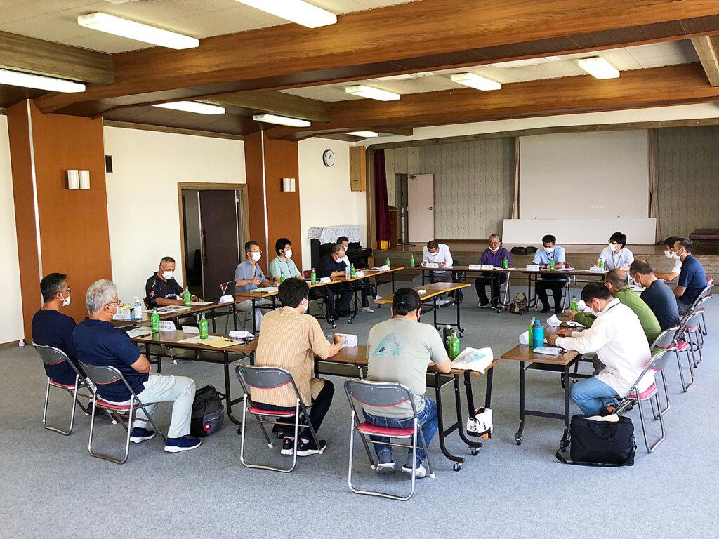 和歌山C&R区間アマゴゾーニング検討会