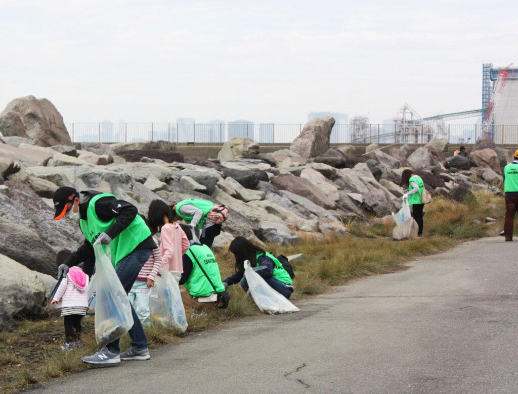 日釣振釣り場の清掃支援金制度